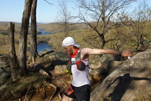 Inconnu au North Face Endurance Challenge de Bear Mountain